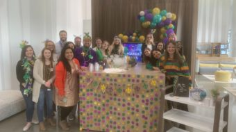 As an Edge intern, you get to participate in all aspects of the ARPR agency life, like our Mardi Gras themed office opening party.